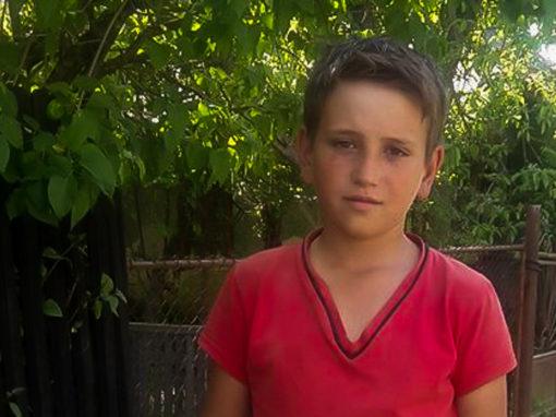 Mihăiță Vieru are 11 ani și este pasionat de muzică